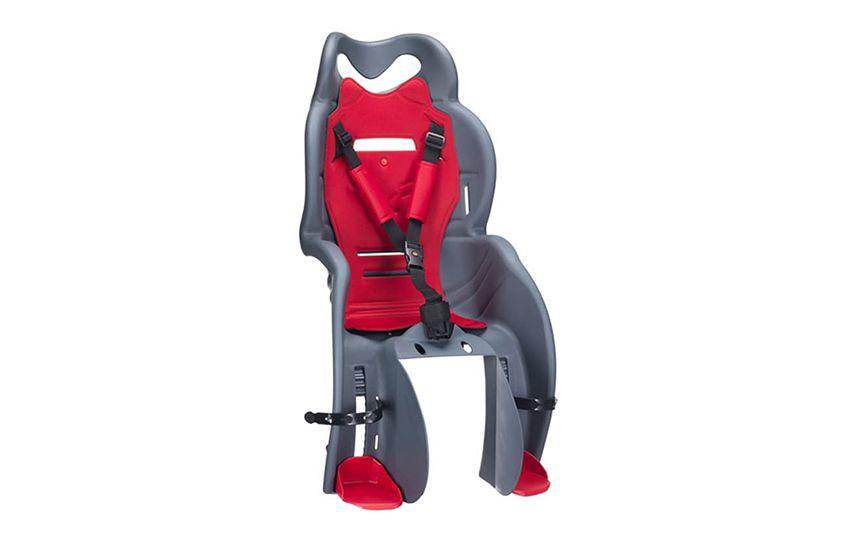 Велокресло детское SANBAS P (крепл.на багажник), серое (Италия)/280043