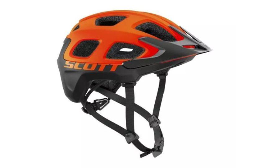 Шлем велосипедный Scott Vivo Orange/Black