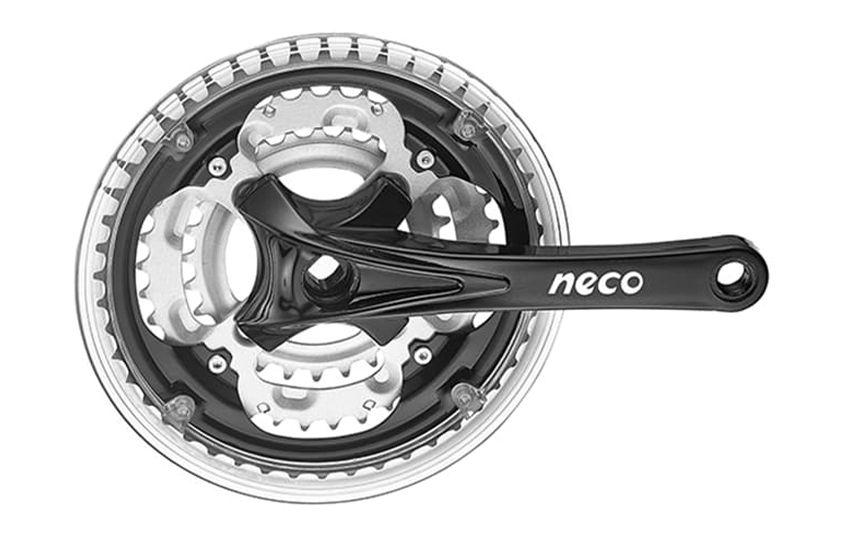 Шатуны (система) Neco NSA-3003 24/34/42Т, 170мм сталь/алюминий/580264