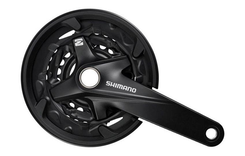 Шатун Shimano MT200 175мм 40/30/22 черный EFCMT200EX002CL