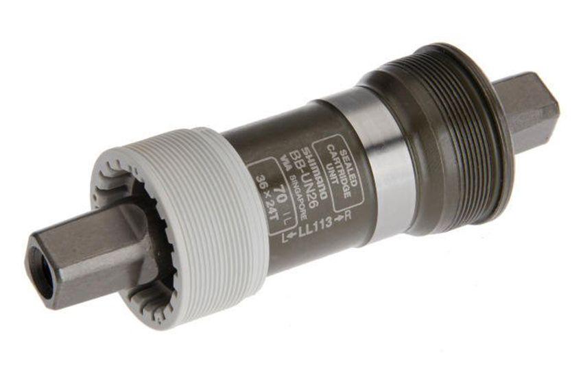 Каретка Shimano UN 26 70/113mm (LL113) б/болтов EBBUN26I13X