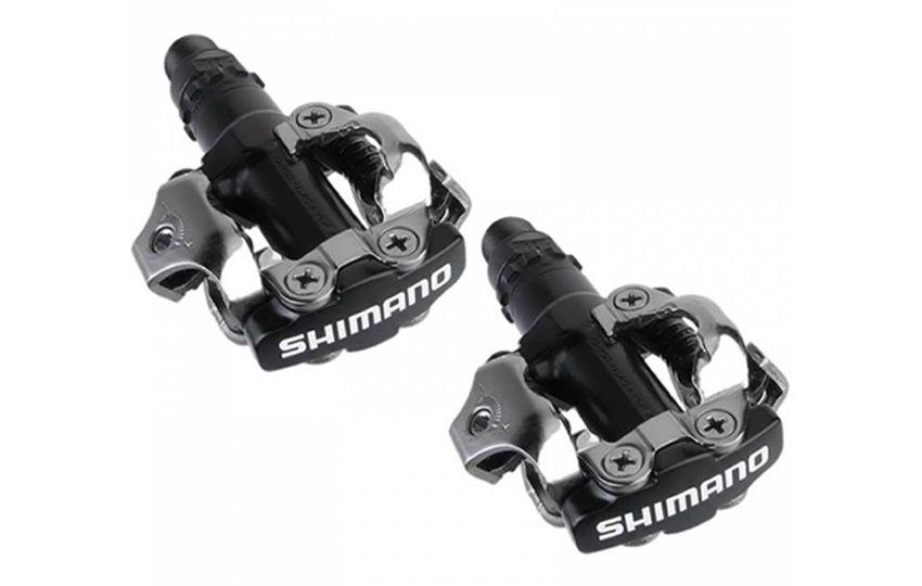 Педали вело Shimano M520 с шипами черный EPDM520L