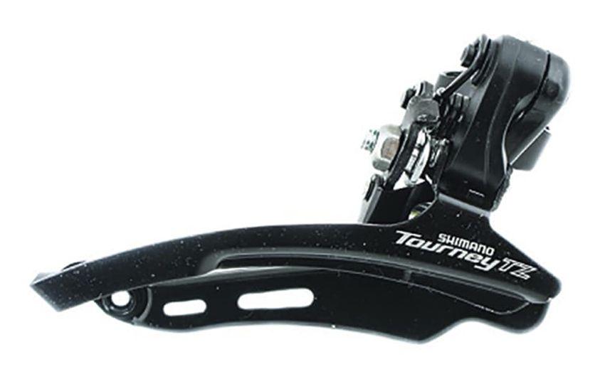 Переключатель передний Shimano TZ510 28,6мм верхняя тяга б/уп AFDTZ510DSTS6