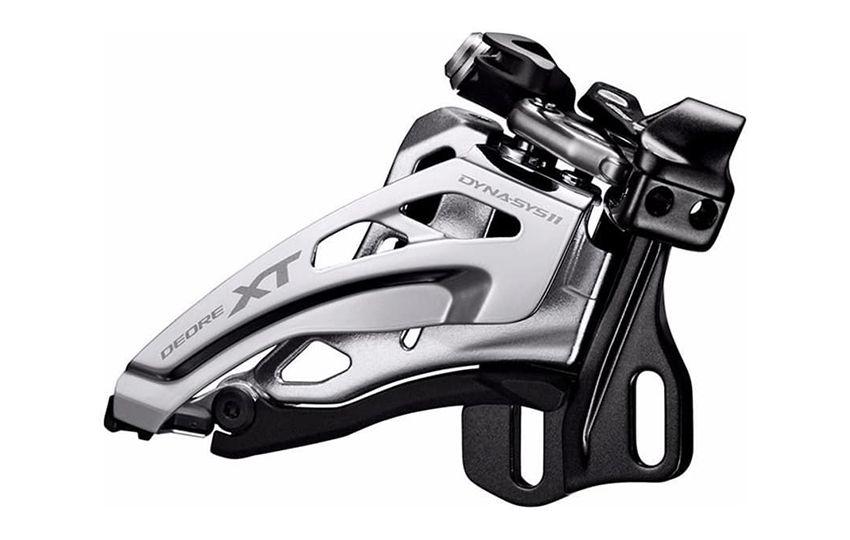 Переключатель передний Shimano XT M8020E,E тип без BB пластины для 2X11 side-swing IFDM8020E6X