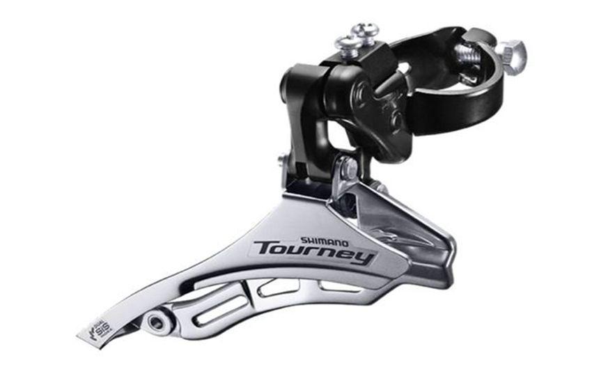 Переключатель передний Shimano Tourney TY300 28,6мм нижняя тяга б/уп AFDTY300DSDS6