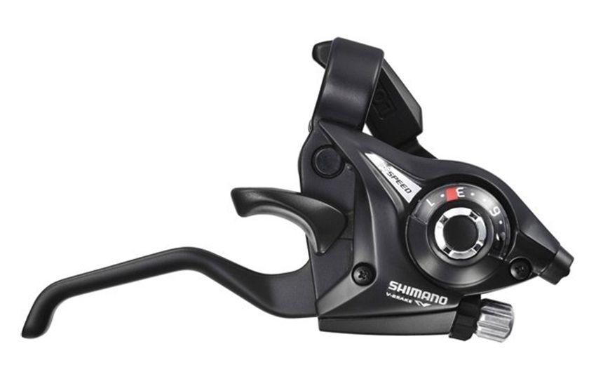 Шифтер/тормозная ручка Shimano Tourney ST-EF51 прав 9ск 2050 мм черный б/уп ASTEF51R9AL