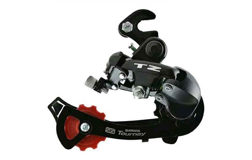 Переключатель задний Shimano Tourney TZ500 GS 6ск крепление на ось 6ск б/уп ARDTZ500GSB