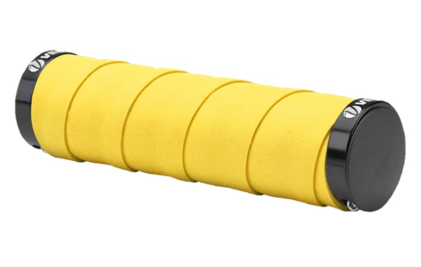 Грипсы VLG-852AD4,129 mm желтый/150169