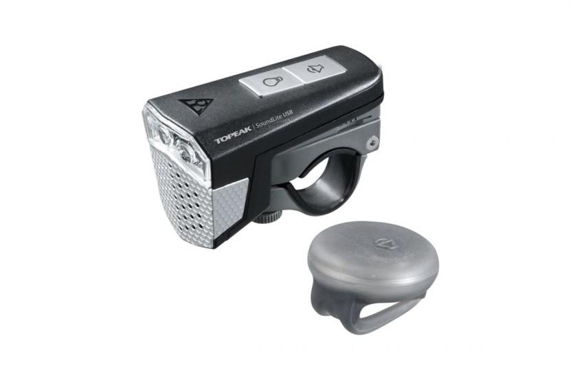 Фонарь Topeak SoundLite USB TMS077B