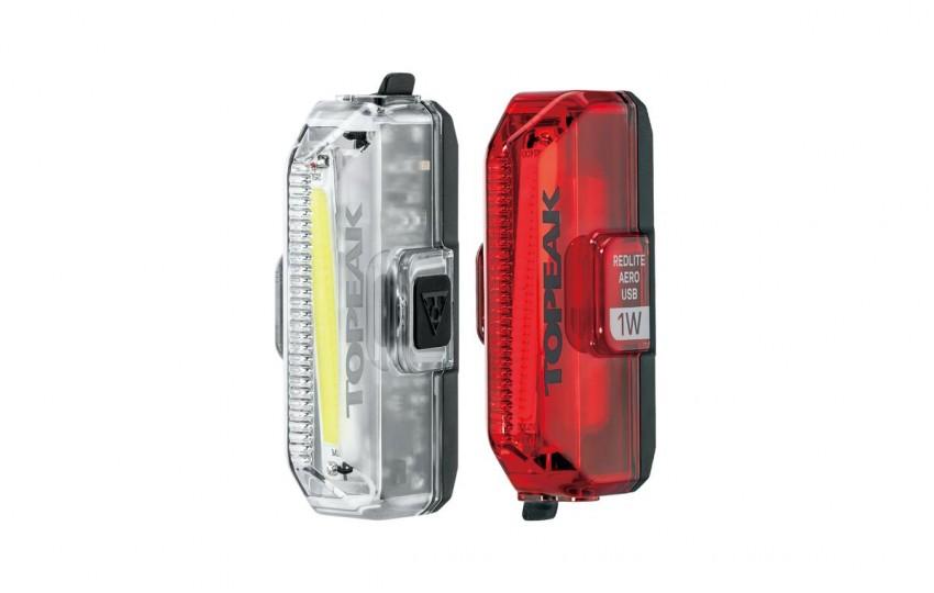 Комплект фонарей Topeak Aero USB 1W Combo TMS084