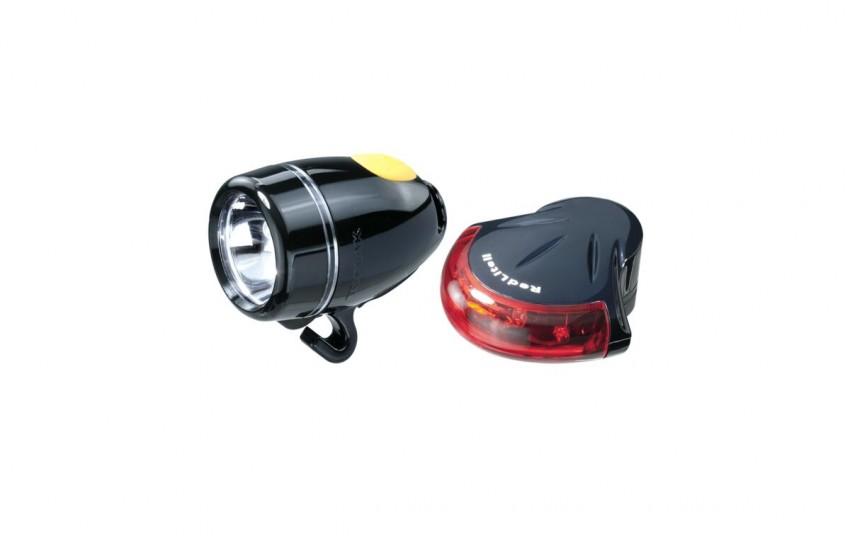 Комплект фонарей Topeak HighLite Combo II Черный TMS037