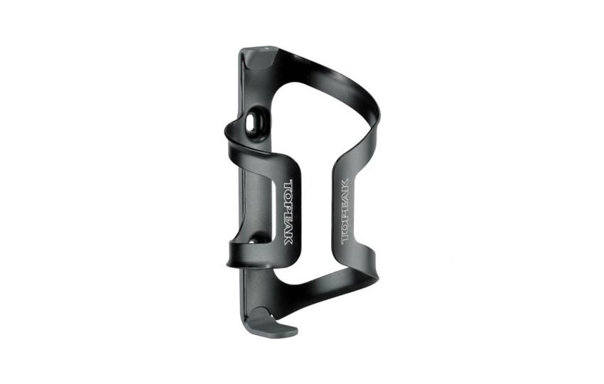 Флягодержатель Topeak DualSide Cage Plastic base Aluminum Cage серо-черный TDSC01-B