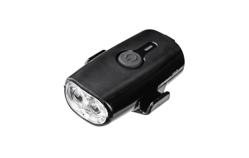 Фонарь Topeak HeadLux 250 USB Черный TMS088B