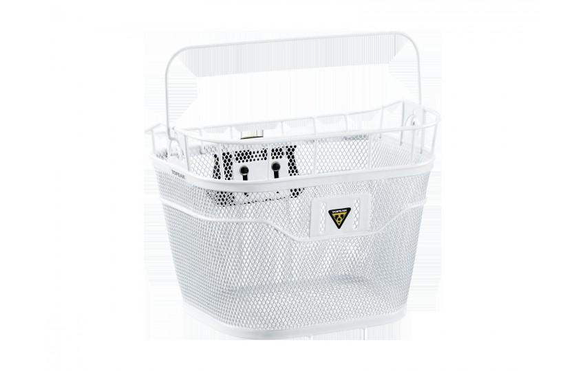 Корзина на руль Topeak Basket Front Fixer 3e Белый TB2011-W
