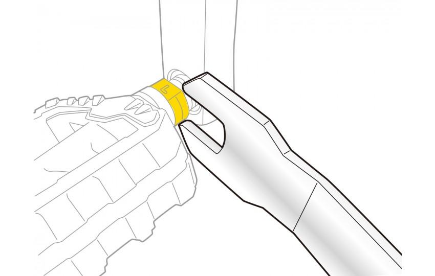 Ключ для педалей Topeak Pedal Wrench 15mm TPS-SP20