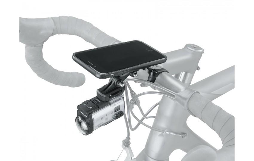 Держатель Topeak RideCase Center Mount with SC & G-Ear Adapters TC1028