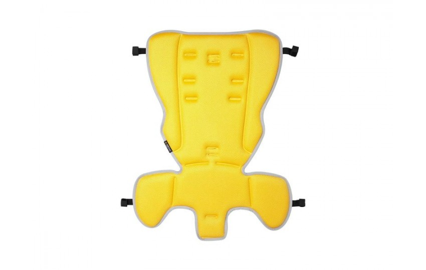 Велокресло Topeak BabySeat II Дисковые тормоза С багажником Желтый TCS2205