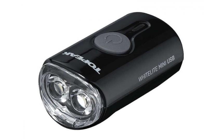 Фонарь Topeak WhiteLite Mini USB Черный TMS079B