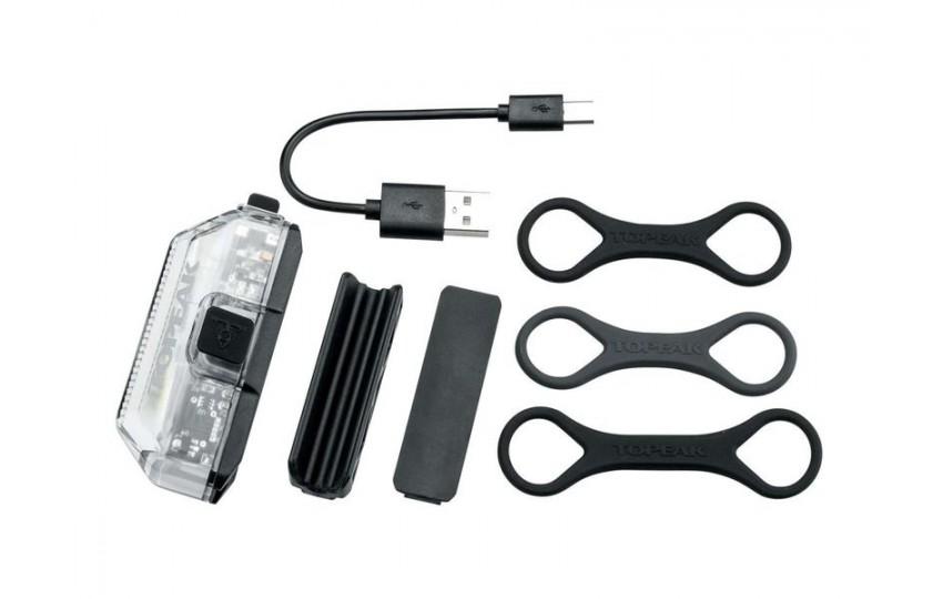 Фонарь Topeak WhilteLite Aero USB 1W TMS082