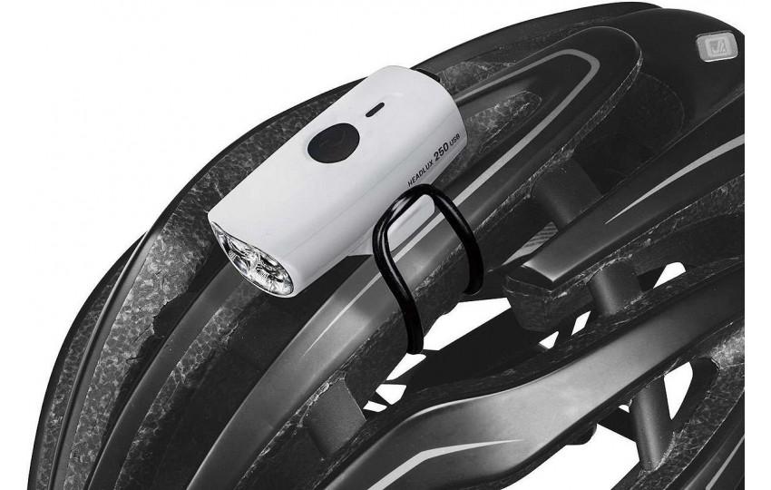 Фонарь Topeak HeadLux 250 USB Белый TMS088W