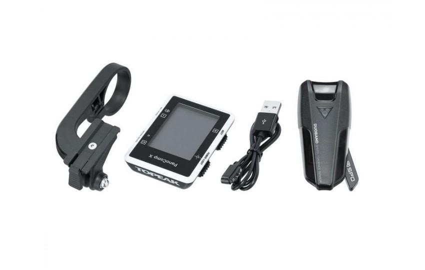 Велокомпьютер Topeak PanoComp X Bluetooth Smart Датчик каденса TPB-CSC02-B1