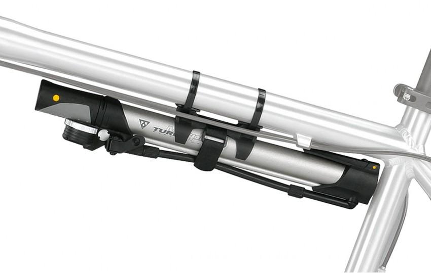 Насос Topeak Turbo Morph G w/Dial Gauge с манометром и подножкой TTM-DG