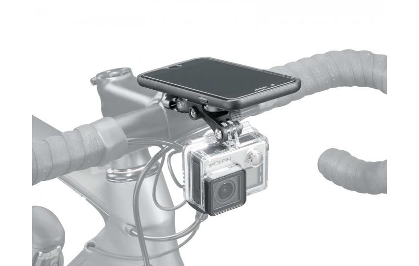 Крепление для камеры и смартфона Topeak RideCase Mount RX with SC adapter TC1025