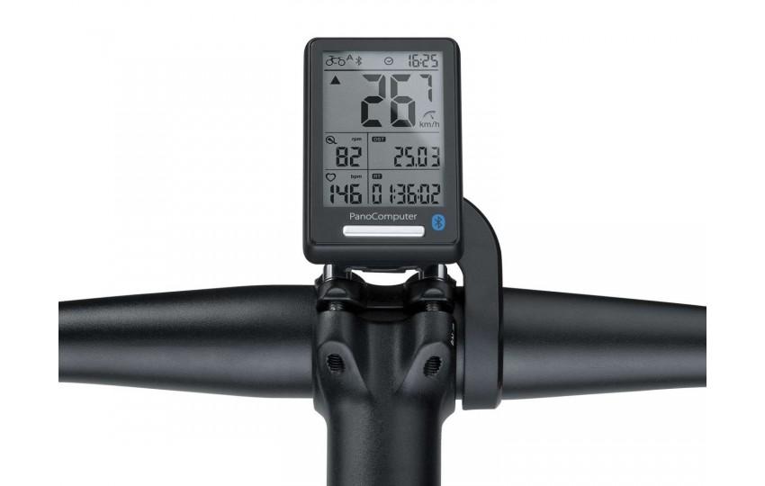 Велокомпьютер Topeak PanoComp X Bluetooth Smart Датчик каденса и скорости Чёрный TPB-CSC02-B