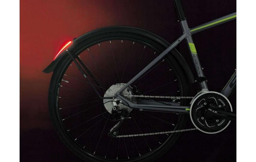 Крыло заднее Topeak DeFender iGlow TX для дорожного велосипеда TIG-DF03