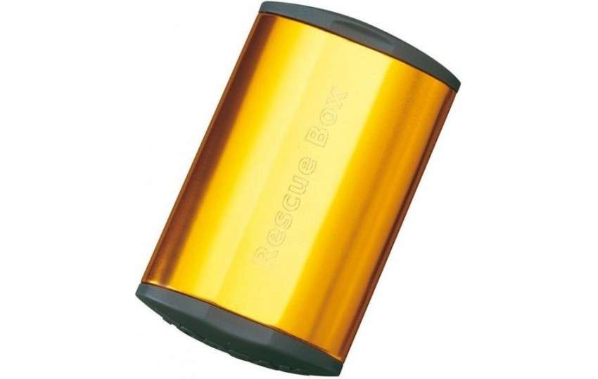 Набор для ремонта камер Topeak Rescue Box Золотой TRB01-GD