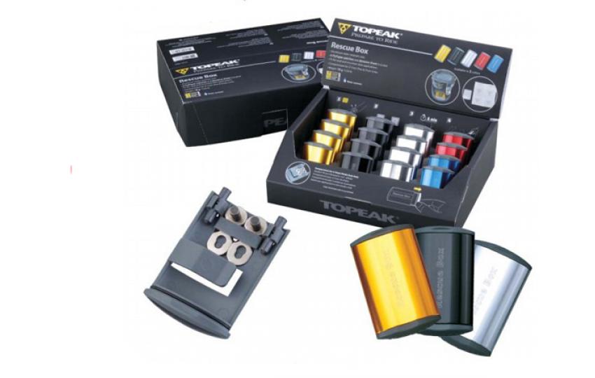Набор для ремонта камер Topeak Rescue Box Counter Display Box 16 шт. TRB02