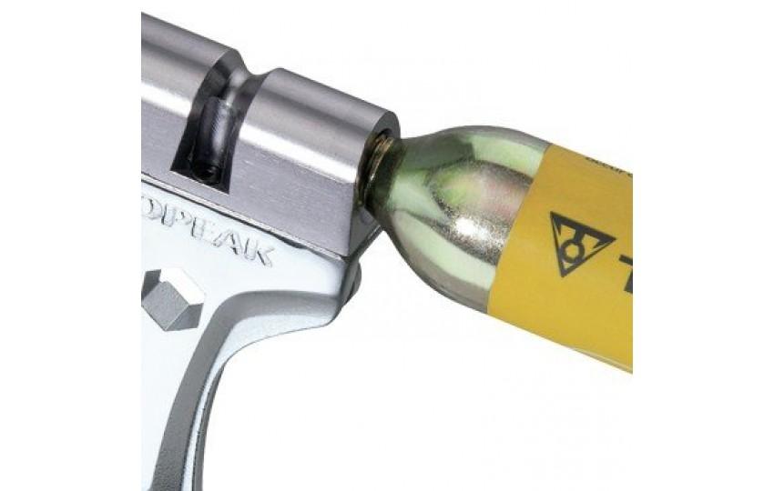 Инструмент с адаптером баллона СО2 Topeak Tool Monster Air TT2555