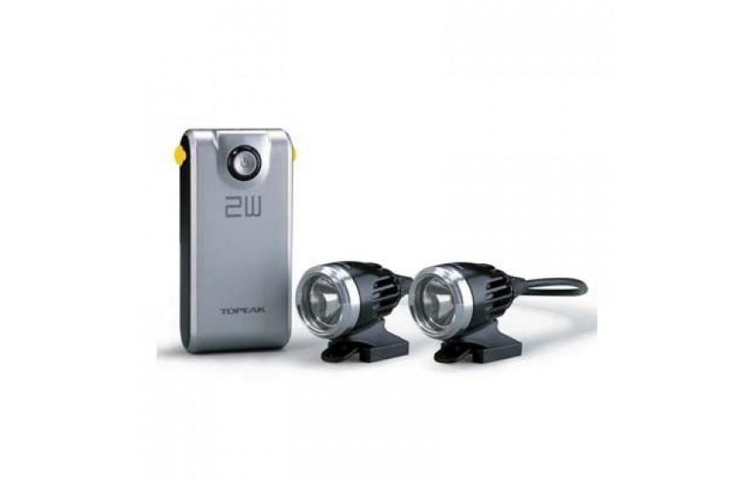 Комплект фар Topeak WhiteLite HP 2W Dual TMS030
