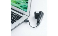 Фонарь передний Topeak SoundLite USB с зарядкой Белый TMS076W
