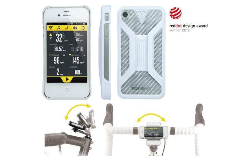 Бокс Topeak для iPhone 4/4S Белый TT9832W