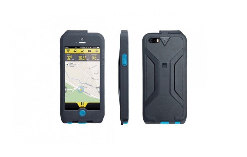 Бокс Topeak для iPhone 5 Чёрный/Синий TT9838BU