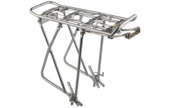 """Багажник 26-28"""" KW-622-02/010013 серебристый, алюминиевый"""