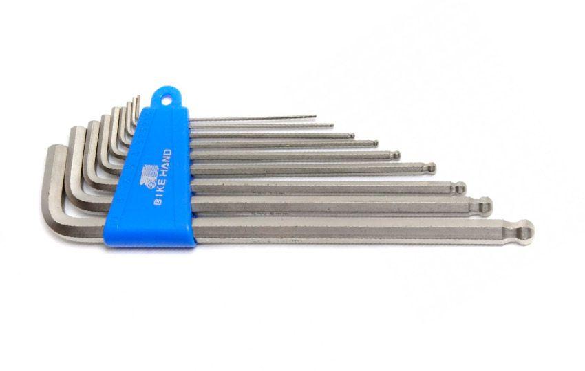 Набор шестигранников с длинной ручкой BikeHand YC-623