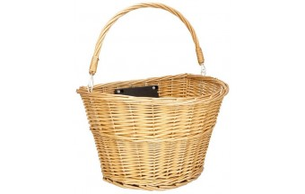 Корзина Schwinn Wicker basket плетеная
