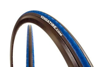 Покрышка KENDA клинчер K-1081 KADENCE (700х23С) черн.-син.