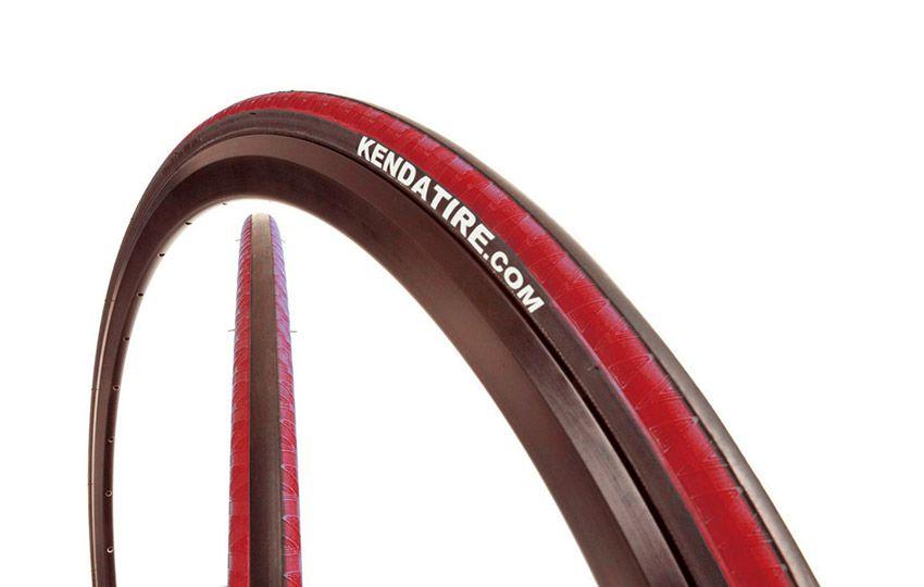 "Велопокрышка 28"" KENDA клинчер K-1081 KADENCE (700х23С) черн.-красн."