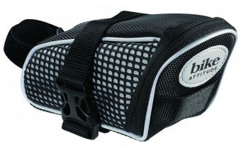 Сумка подседельная Bike Attitude SADDLE BAG POLYESTER VELCRO STRAP