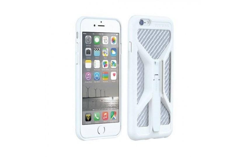 Чехол для телефона Topeak RideCase ONLY for iPhone 6 Белый TRK-TT9845W