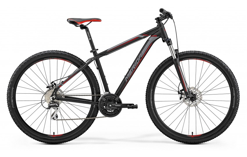 Merida Big.Nine 20-MD 2019 Чёрный