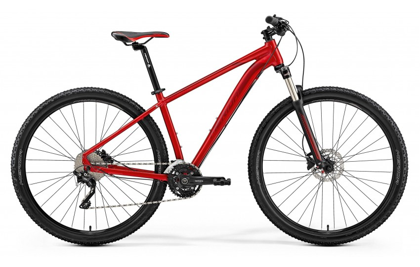 Merida Big.Nine 80-D 2019 Красный