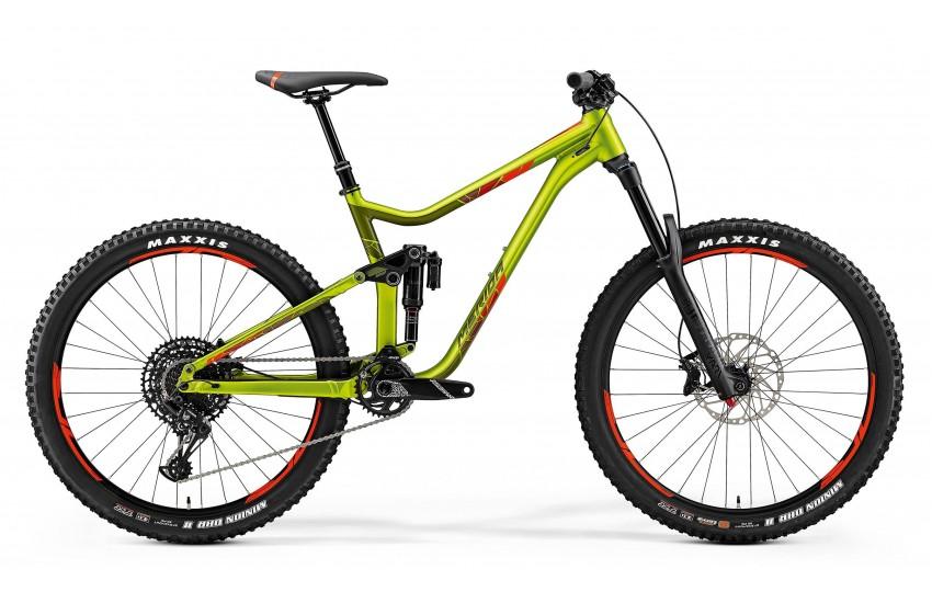 Merida One-Sixty 600 2019 Зелёный