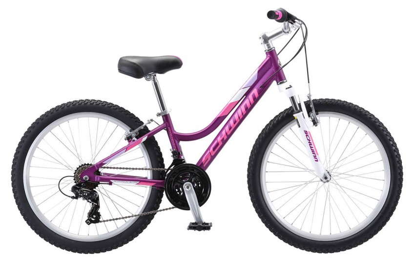 "Schwinn Breaker 24"" Girls 2019 Фиолетовый"