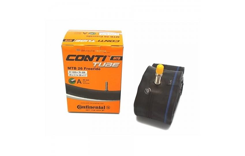 "Велокамера 26"" Continental MTB Freeride 26х2,3/2,7 40мм A/V/210000"