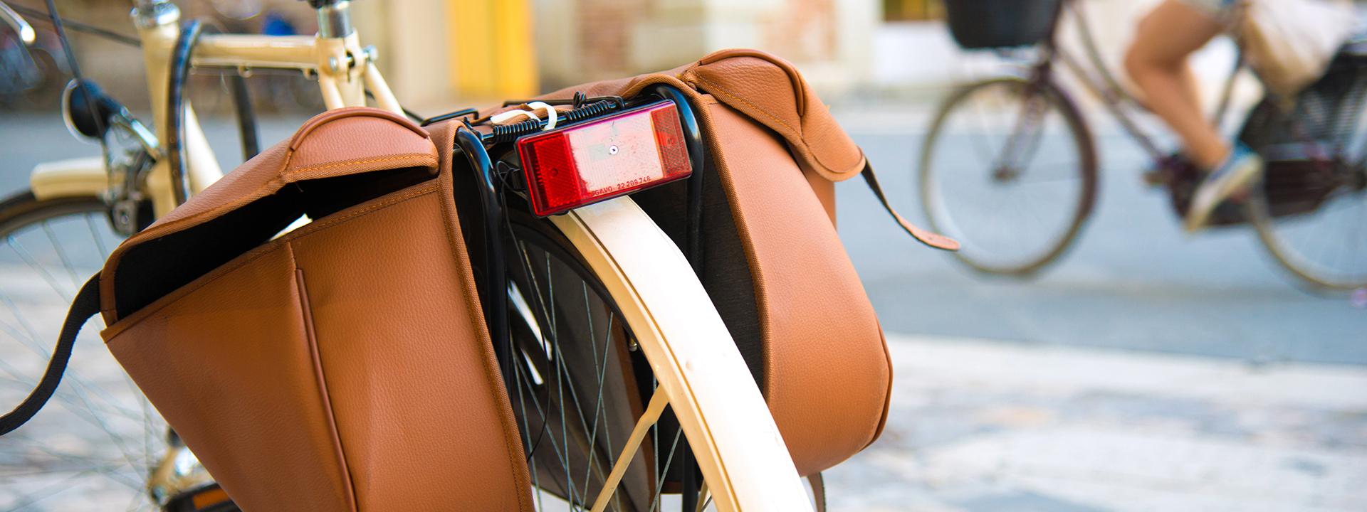 Фото багажника для велосипеда вблизи
