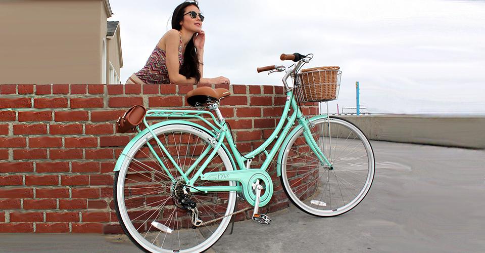 Фото женского туристического велосипеда